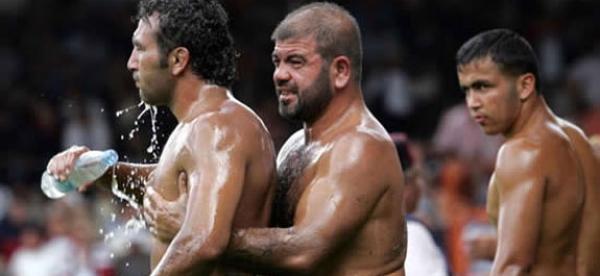 Grease Wrestling