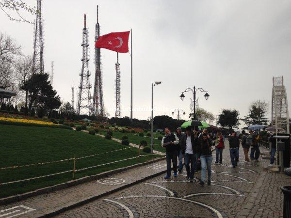 istanbul bosphorus tour camlica hill