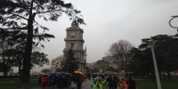 Dolmabahce Palace istanbul watch tower