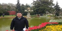 Garden of Dolmabahce Palace istanbul